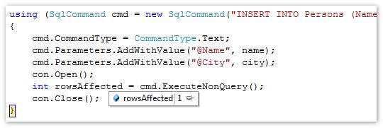 Ado net c# console application executereader 1 youtube.