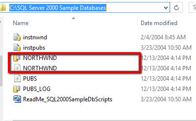 database northwind
