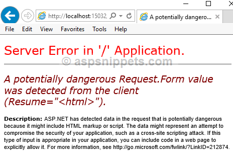 What Is Validateinputfalse Attribute Its Uses And Examples In Asp