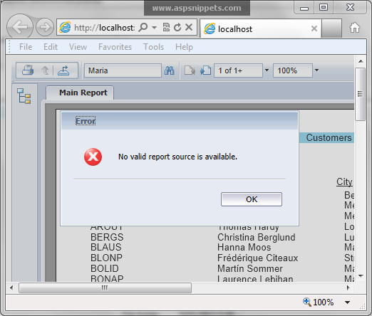 how to create crystal report in visual studio 2010 c