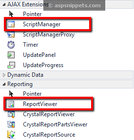RDLC (Local SSRS) Report ASP.Net Example using DataSet or DataTable in C# VB.Net and Visual Studio 2010