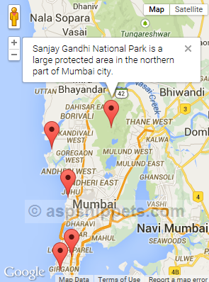 Google Maps API V Add Multiple Markers With InfoWindow To Google Map - Google maps multiple locations