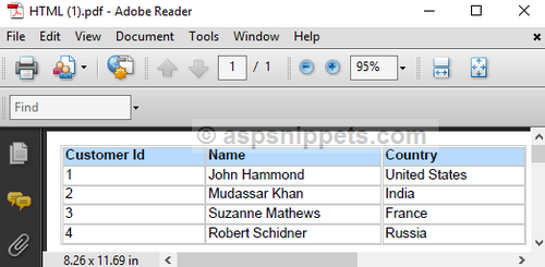 How To Convert Html To Pdf In Asp Net - specialistxsonar's blog