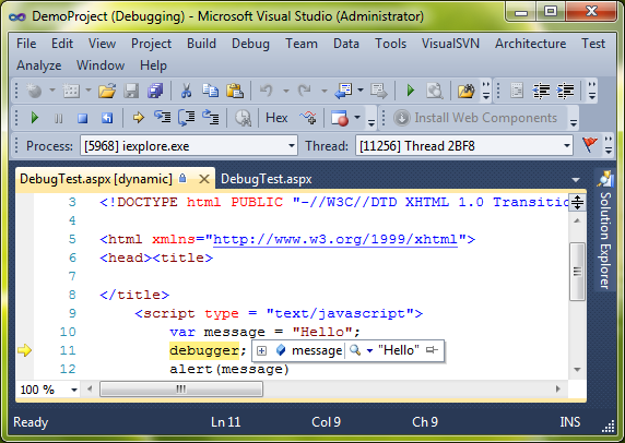 how to download javascript modules in visual studio